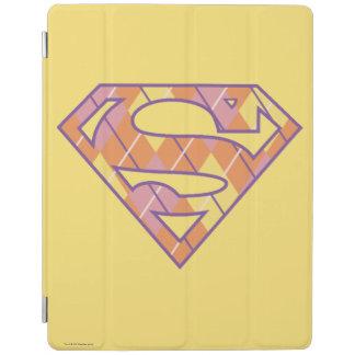 Supergirl Argyle Logo iPad Cover