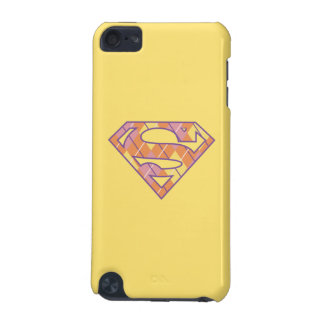Supergirl Argyle Logo iPod Touch (5th Generation) Covers