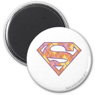 Supergirl Argyle Logo Magnet