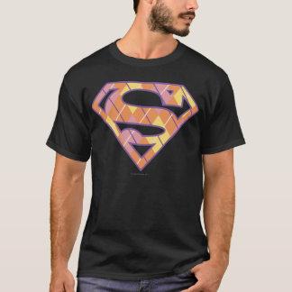 Supergirl Argyle Logo T-Shirt