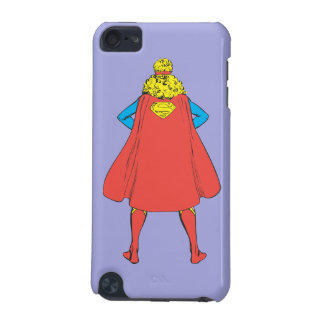 Supergirl Back View iPod Touch (5th Generation) Cover