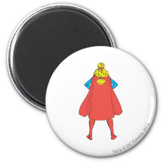 Supergirl Back View Magnet