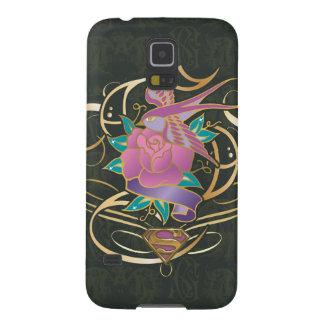 Supergirl Bird and Flower Galaxy S5 Case