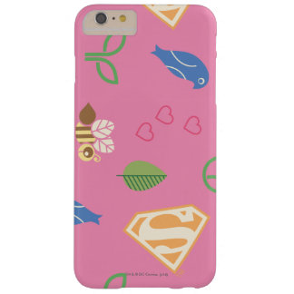 Supergirl Birds & the Bees Pink Barely There iPhone 6 Plus Case