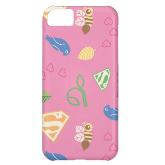 Supergirl Birds & the Bees Pink iPhone 5C Case