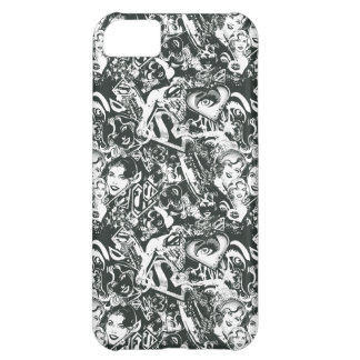 Supergirl Black and White Collage iPhone 5C Case