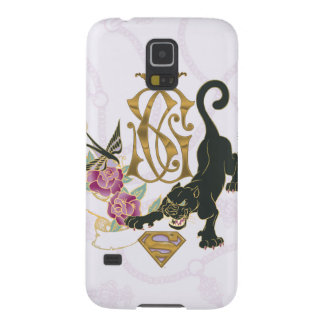 Supergirl Black Panther Galaxy S5 Case