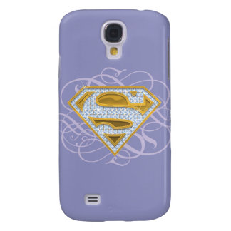 Supergirl Blue Jewels 2 Galaxy S4 Case