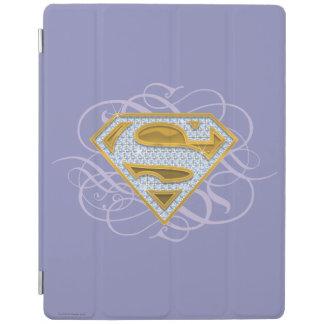 Supergirl Blue Jewels 2 iPad Cover