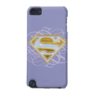 Supergirl Blue Jewels 2 iPod Touch (5th Generation) Case
