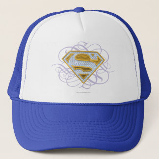 Supergirl Blue Jewels 2 Trucker Hat