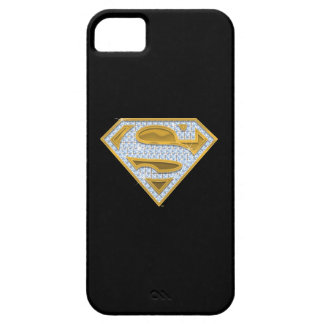 Supergirl Blue Jewels Case For The iPhone 5