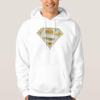 Supergirl Blue Jewels Hoodie