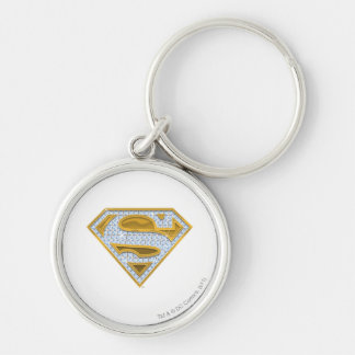 Supergirl Blue Jewels Key Ring