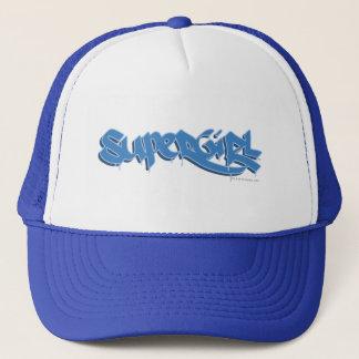 Supergirl Blue Logo Trucker Hat