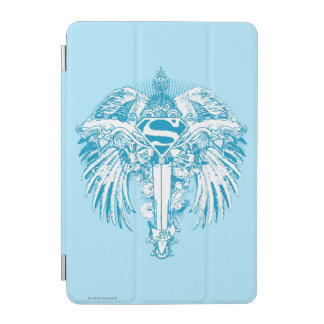 Supergirl Blue Wings iPad Mini Cover