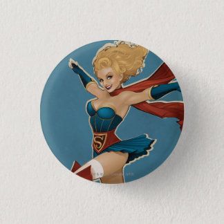 Supergirl Bombshell 3 Cm Round Badge