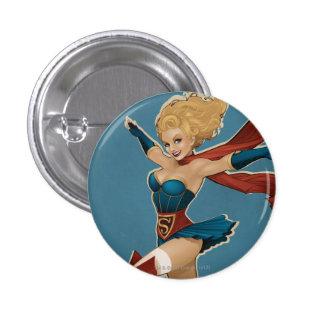 Supergirl Bombshell 3 Cm Round Badge