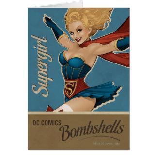 Supergirl Bombshell Card