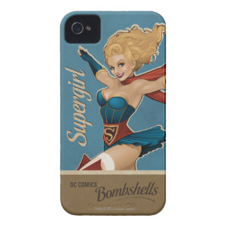 Supergirl Bombshell iPhone 4 Cases