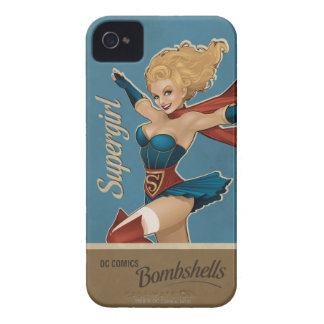 Supergirl Bombshell iPhone 4 Covers