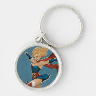 Supergirl Bombshell Key Ring