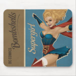Supergirl Bombshell Mouse Pad