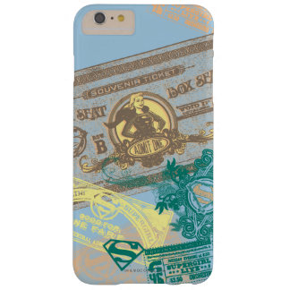 Supergirl Box Seat Blue Barely There iPhone 6 Plus Case