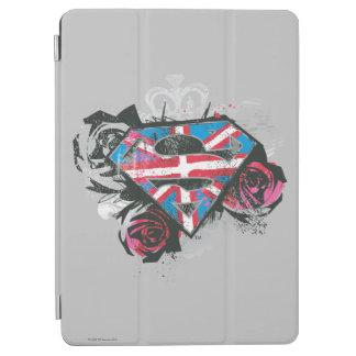 Supergirl British Flag and Roses iPad Air Cover