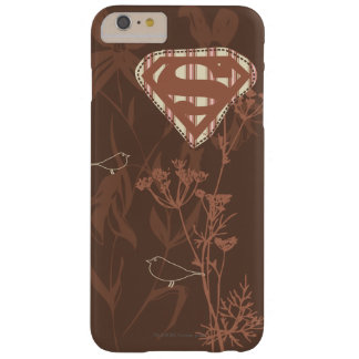Supergirl Brown Bird Barely There iPhone 6 Plus Case