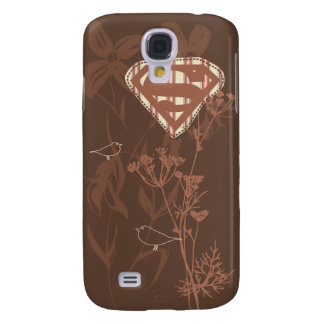 Supergirl Brown Bird Galaxy S4 Case