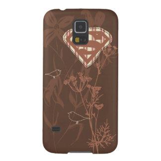 Supergirl Brown Bird Galaxy S5 Case