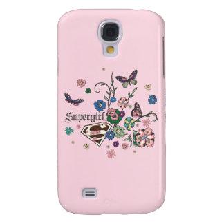 Supergirl Butterflies Galaxy S4 Case