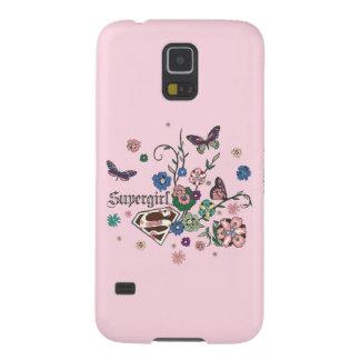Supergirl Butterflies Galaxy S5 Case