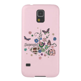 Supergirl Butterflies Galaxy S5 Cases