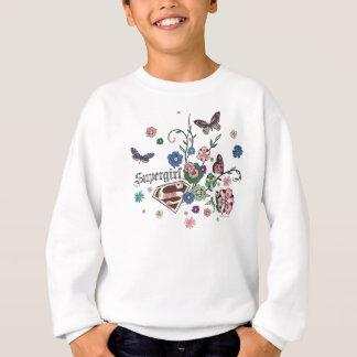 Supergirl Butterflies Sweatshirt
