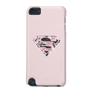 Supergirl Camouflage Logo iPod Touch 5G Cases