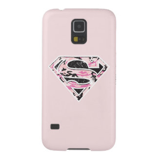 Supergirl Camouflage Logo Case For Galaxy S5