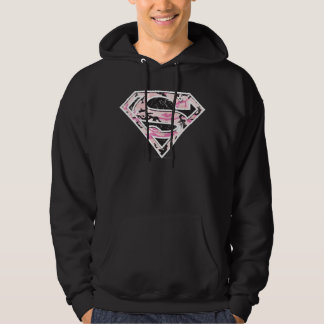 Supergirl Camouflage Logo Hoodie