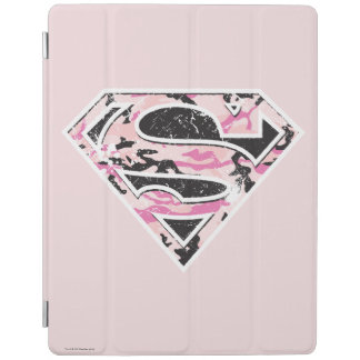 Supergirl Camouflage Logo iPad Cover