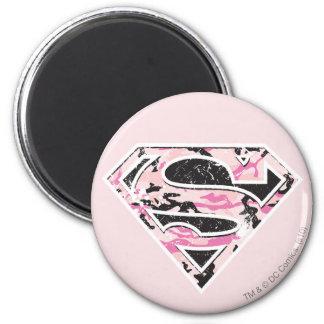 Supergirl Camouflage Logo Magnet