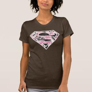 Supergirl Camouflage Logo T-Shirt
