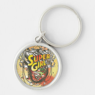 Supergirl Chains Key Ring