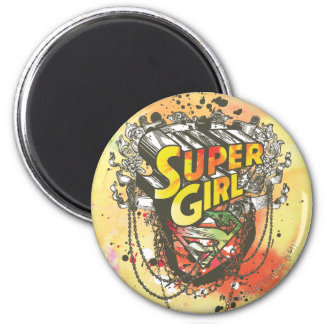 Supergirl Chains Magnet