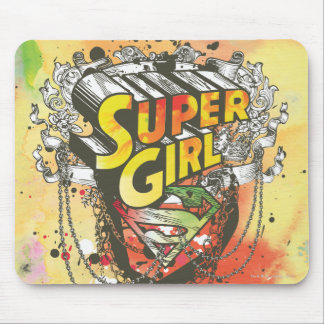 Supergirl Chains Mouse Mat