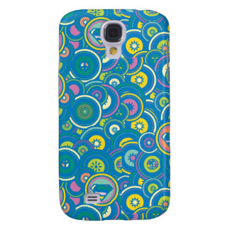 Supergirl Circle Blue Pattern Galaxy S4 Case