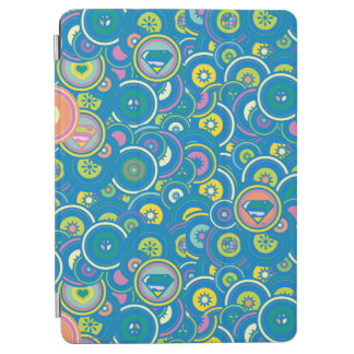 Supergirl Circle Blue Pattern iPad Air Cover