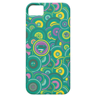 Supergirl Circle Green Pattern iPhone 5 Covers