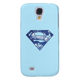 Supergirl Cloud Logo Galaxy S4 Case
