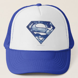 Supergirl Cloud Logo Trucker Hat